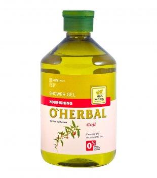 Питательный гель для душа O Herbal с годжи, 500 мл (5901845500036)