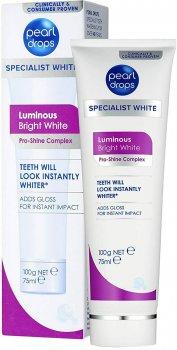 Отбеливающая зубная паста-полироль Pearl Drops Luminous Bright White 75 мл (5010724532096)