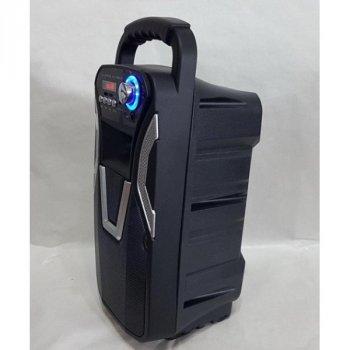 Акустична система Bluetooth 10W з підтримкою AUX USB Ailiang LIGE-3611-DT Black КАРАОКЕ СИСТЕМА З МІКРОФОНОМ , акустика ,портативна колонка