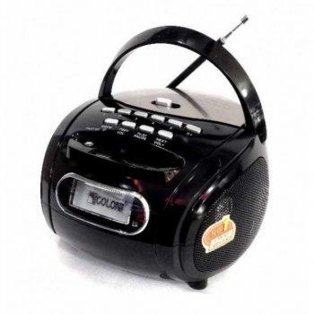 Цифровий радіоприймач Golon RX-1860 Premium, колонка з радіо та USB виходом в стилі бумбокс чорний, акустика, акустична система, музичний центр, Bluetooth ( блютус), для будинку, дачі, кафе, природи, акумуляторна