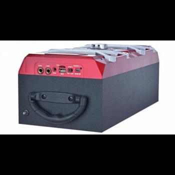 Bluetooth колонка з мікрофоном Радіо - бумбокс AFG NS-15030BT Premium, чорний, акустика, акустична система, музичний центр, Bluetooth ( блютус), для будинку, дачі, кафе, природи, акумуляторна