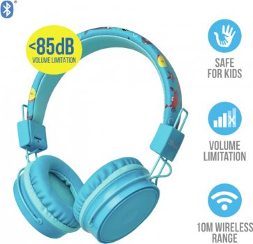 Навушники Trust Comi Bluetooth Wireless Kids Headphones Blue (23128)