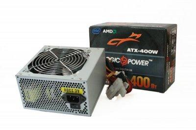 Блок питания LogicPower 450W ATX450W 120 mm 20+4pin 1x4pin SATA х 2 кабеля немодульные