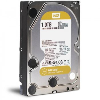Жорсткий диск 3.5' 1Tb Western Digital Gold SATA3 128Mb 7200 rpm WD1005FBYZ