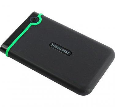 Зовнішній жорсткий диск 2Tb Transcend StoreJet 25M3 Iron Gray 2.5' USB 3.0 TS2TSJ25M3S