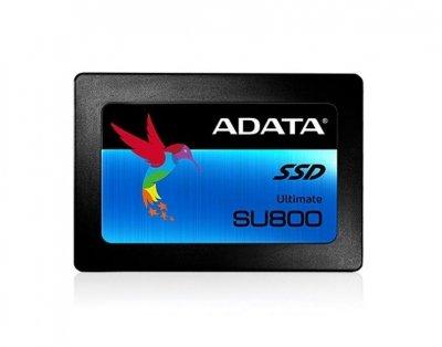 Твердотільний накопичувач 512Gb, A-Data SU800 Ultimate, SATA3, 2.5', TLC, 560/520 MB/s (ASU800SS-512GT-C)