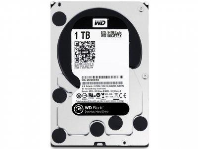 Жорсткий диск 3.5' 1Tb Western Digital Black SATA3 64Mb 7200 rpm WD1003FZEX