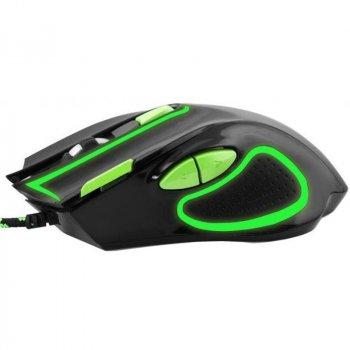 Миша Esperanza MX401 Hawk (EGM401KG) Black/Green USB