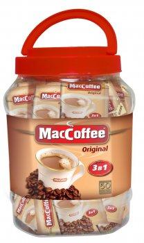 Кава MacCoffee Original 3 в 1, банку 20г*50 (170141)