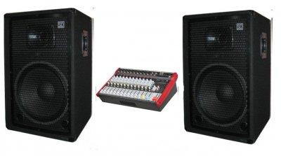 """Комплект звукового оборудования Sound Division DJ15/2 700Вт, 15"""""""