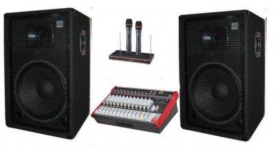 """Комплект звукового оборудования Sound Division DJ15KAR1 2х350Вт, 15"""" 700Вт"""
