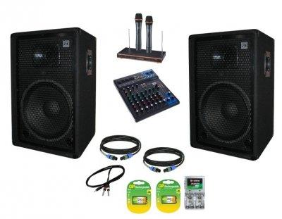 """Активный звуко-усилительный комплект Sound Division DJ15SA2KAR82 700Вт 15"""""""