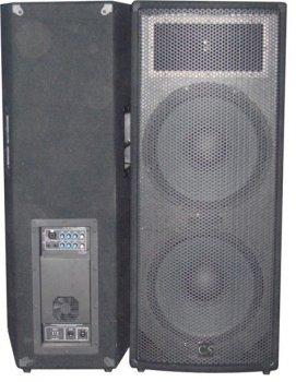 Комплект з 2-х акустичних систем City Sound CS-215A-2 1400 Вт