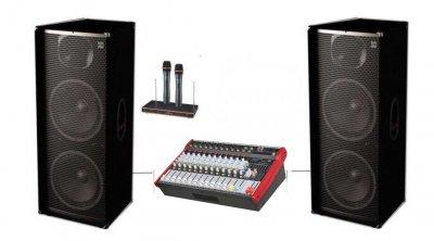 """Комплект звукового обладнання Sound Division С500-P122TS+ 2х500Вт 2х15"""""""