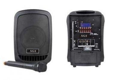 """Активна акустична система NGS PA6.5-V1BP-BT 80Вт 6.5"""" з батареєю"""