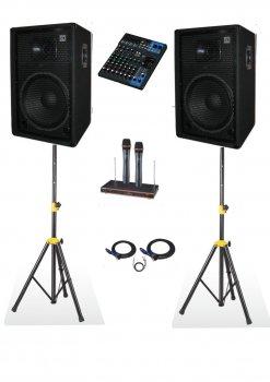 Комплект звукового оборудования Sound Division DJ15SA2-KAR-Al2 700Вт