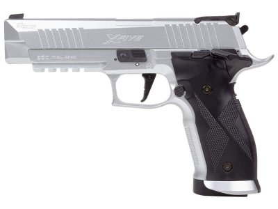 Пістолет пневматичний Sig Sauer Air P226 X-Five Silver (1625.01.91)