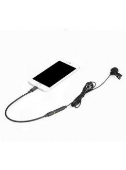 Петличный микрофон Boya BY-M2 для Apple iPhone
