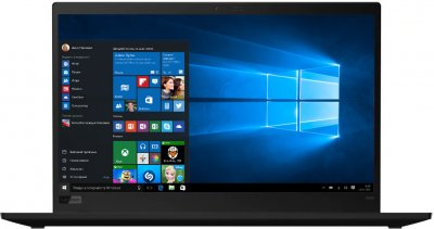 Ноутбук Lenovo ThinkPad X1 Carbon (8th Gen) (20U90004RT) Black