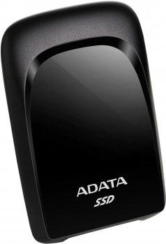"ADATA SC680 1.92TB 2.5"" USB 3.2 Type-C 3D NAND TLC Black (ASC680-1T92U32G2-CBK) External"