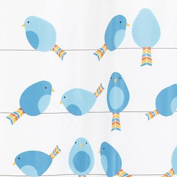 Шторка для ванної вінілова Spirella BIRDY 180х200см (ВХ-10.18685)
