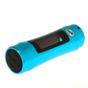 Водонепроникний MP3 плеєр Kronos SX01 з дисплеєм на 8гб і FM для плавання дайвінгу Синій (acf_00150)