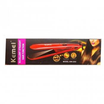 Утюжок для волос Kemei JB-KM-2202 | выравниватель | выпрямитель | утюжок для выпрямления