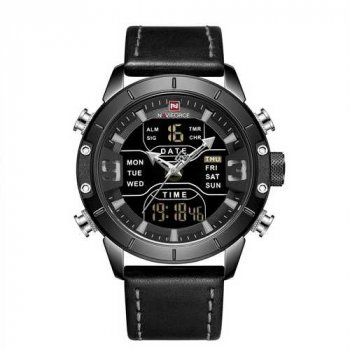Наручний годинник AlexMosh чоловічі Naviforce NF9153L All Black (56)