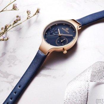 Наручний годинник AlexMosh жіночі Naviforce NF5001 Blue-Cuprum (3)