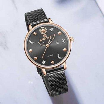 Наручний годинник AlexMosh жіночі Naviforce NF5009 Gray-Cuprum (10)
