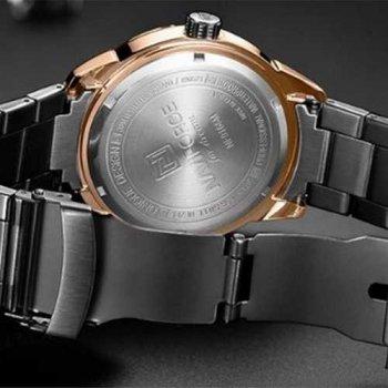 Наручний годинник AlexMosh чоловічі Naviforce NF9166 Black-Cuprum (28)