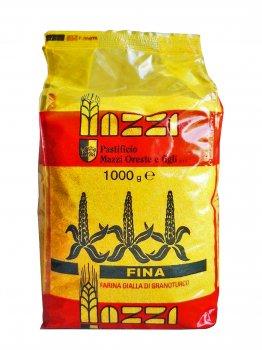 Італійське кукурудзяне борошно MAZZI для поленти 1000 г без глютена