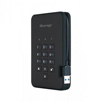 iStorage diskAshur2 256-bit 3TB - Black