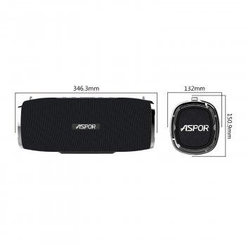 Bluetooth колонка Aspor A6 Black