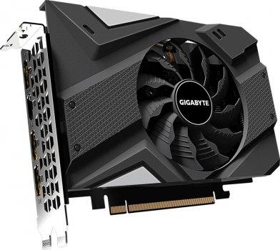 Gigabyte PCI-Ex GeForce GTX 1660 Ti Mini ITX 6GB GDDR6 (192bit) (1770/12000) (HDMI, 3 x DisplayPort) (GV-N166TIX-6GD)