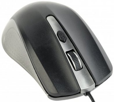 Миша Gembird MUS-4B-01-GB USB Black/Grey
