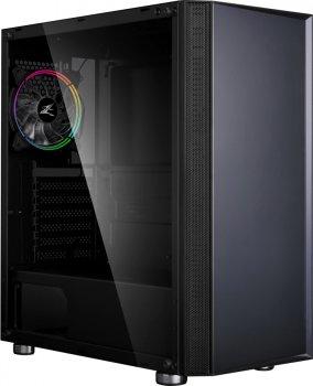 Корпус Zalman R2 RGB Tempered Glass Black + Блок питания Zalman GigaMax ZM550-GVII 550W
