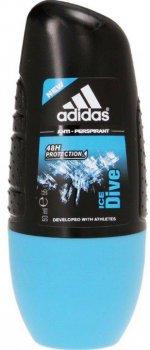 Дезодорант-антиперспирант шариковый Аdidas Ice Dive 50 мл (3607347410928)