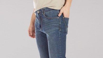 Джинси Lee Slim Fit Straight Leg Cortez блакитні