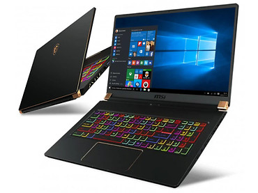 Ноутбук MSI GS75 i9-10980HK/32GB/1TB/Win10P RTX2070 Super