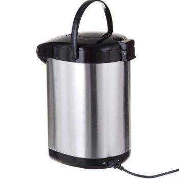 Термопот электрический чайник-термос Rainberg RB-629 5,8 л 2000W Black/Steel
