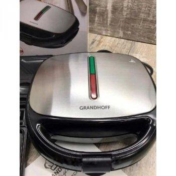 Сендвичница 4 в 1 GRANT GT 779 1200W (сендвичница-гриль-вафельниця-горішниця)