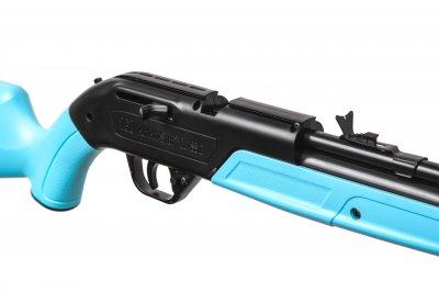 """Гвинтівка пневматична Crosman """"760 Pumpmaster Light Blue"""" кал.4,5 мм"""