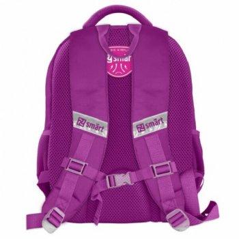 Рюкзак школьный каркасный для девочек SMART 558182 SM-04 Hello (990427)