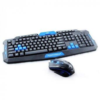 Бездротова ігрова клавіатура і миша UKC HK-8100
