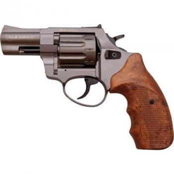 "Револьвер під патрон Флобера STALKER Titanium 2.5"" коричн. рук."