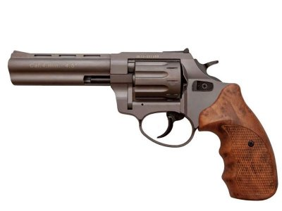 Револьвер под патрон Флобера STALKER Titanium 4.5'' коричн. рук.