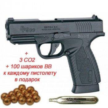 Пістолет пневм. ASG Bersa BP9CC 4,5 мм