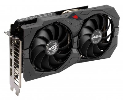 Asus PCI-Ex GeForce GTX 1650 ROG Strix Gaming Advanced Edition 4GB GDDR6 (128bit) (1410/12000) (2 x DisplayPort, 2 x HDMI) (ROG-STRIX-GTX1650-A4GD6-GAMING)