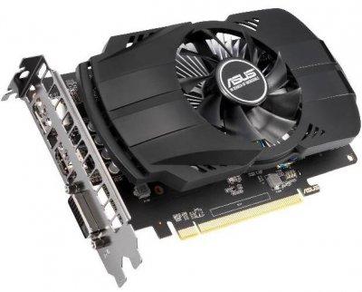 Asus PCI-Ex Radeon RX 550 Phoenix EVO 2GB GDDR5 (128bit) (1183/6000) (DVI, HDMI, DisplayPort) (PH-RX550-2G-EVO)